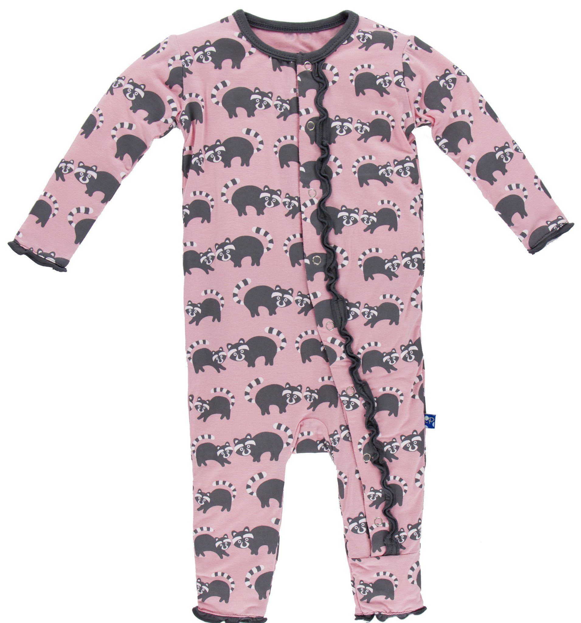 e817d10ab7d3 KicKee Pants Lotus Raccoon Muffin Ruffle Coverall