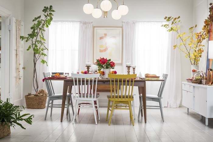 target styling chapter #3 – setting a fall table | dinning chairs