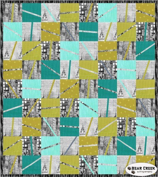 Skylines Piece of Sky Free Quilt Pattern by Hoffman Fabrics ... : hoffman free quilt patterns - Adamdwight.com