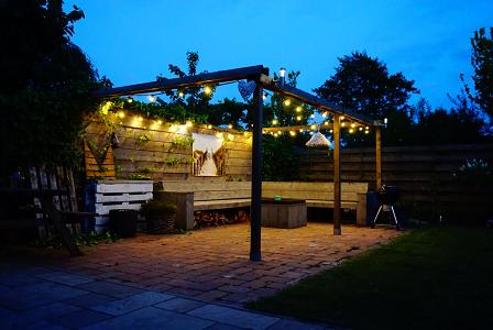 Beste Image result for festival lampjes tuin overkapping (met YH-26