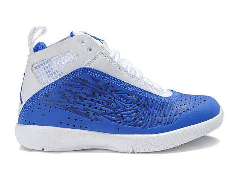 Air Jordan 2011 Chaussure de basket-ball pour Enfant Jordan Bleu/Blanc