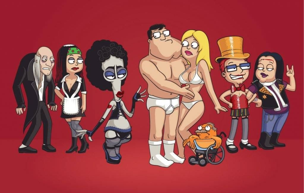 American Dad Does Rocky Horror Love It American Dad American