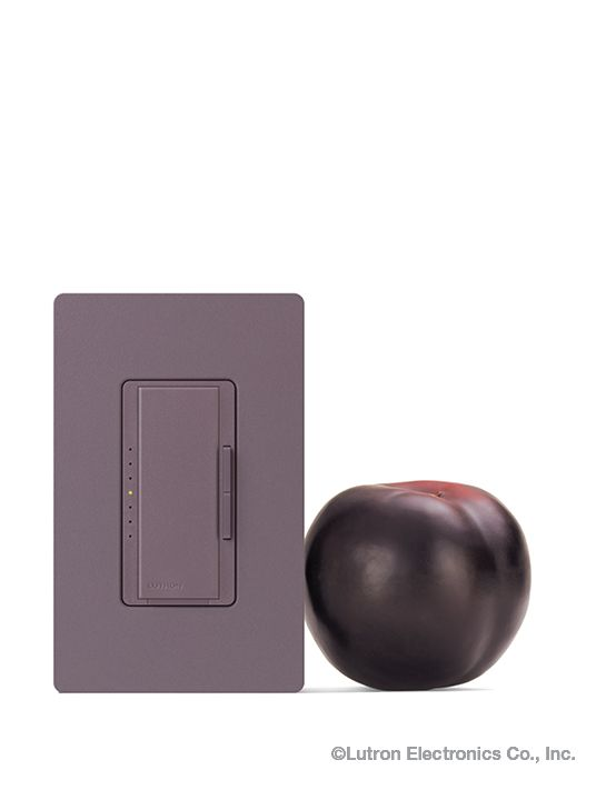 Light Switches · Add A Pop Of Plum To Your Color Scheme, When Selecting  Your Next Dimmer.