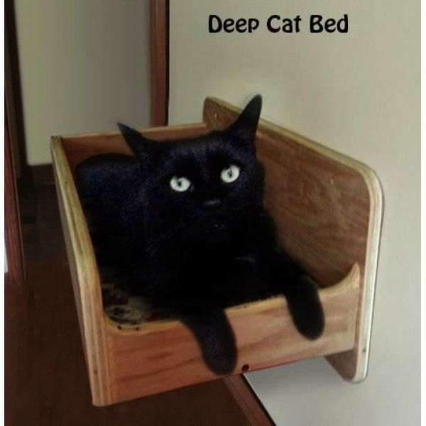 Deep Wall Mounted Cat Bed
