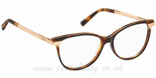 3d09f6f712b GW835070 Havana Rose Gold Max Mara Glasses Max Mara MM 1233 CJ7 53mm ...