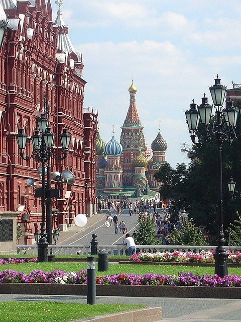 Would love to see Moscow...