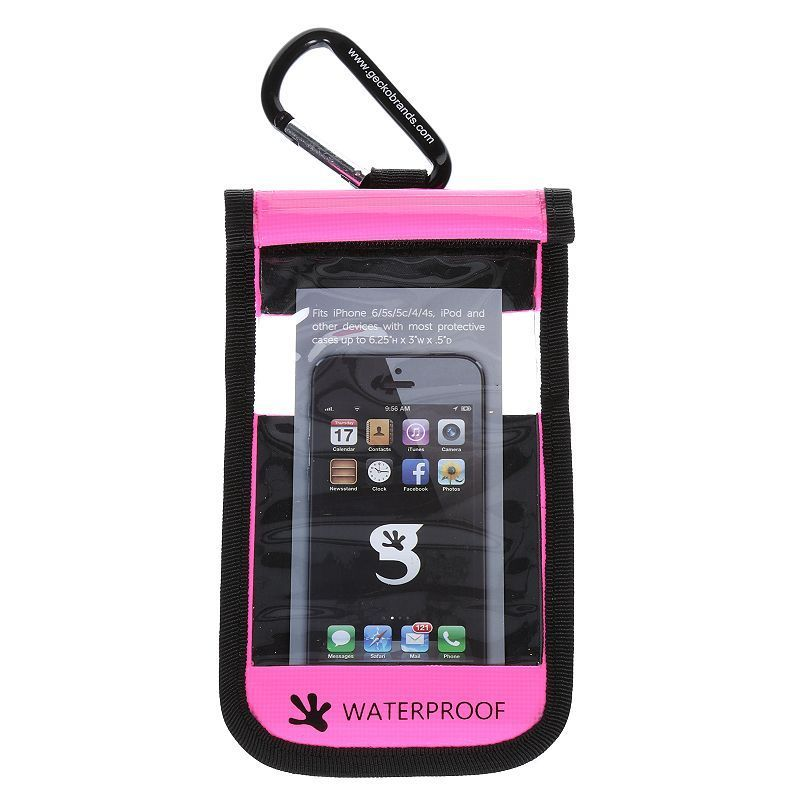 geckobrands Waterproof iPhone / Small Cell Phone Dry Bag,