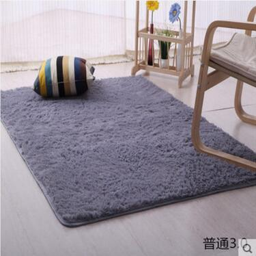 100200cm Large Size Fluffy Rugs Anti Skid Shaggy Area Rug Dining