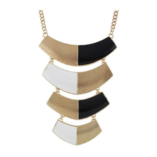 Black Enamel Long Pendant Necklace ($6.99) ❤ liked on Polyvore featuring jewelry, necklaces, long pendant necklaces, long necklaces, enamel necklace, pendant necklace and enamel jewelry