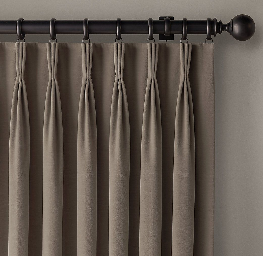 creased linen curtains - Google Search | Шторы | Pinterest | Linen ... for French Pleat Drapes  570bof