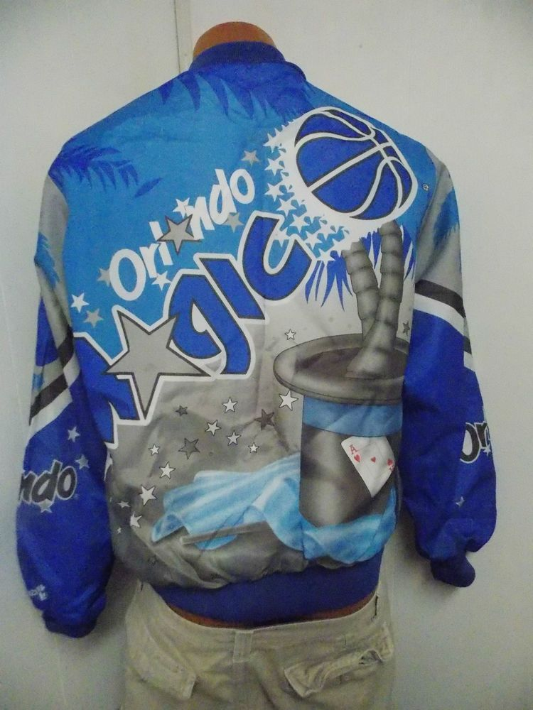 b327a66b9 Vintage Chalk Line 1980 s ORLANDO MAGIC Jacket Size Adult Medium SUPER RARE   ChalkLine  other
