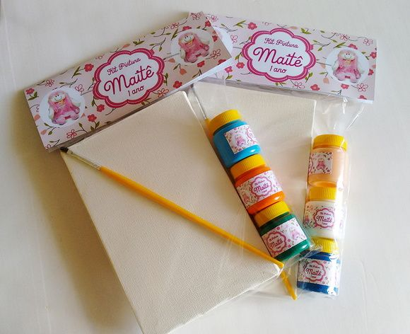 Kit Pintura - Tema Boneca de Pano