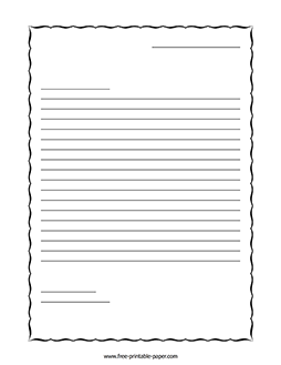 Download This Printable Letter Writing Paper When Learning How To Write A Letter Or What A L Letter Writing Paper Writing Paper Printable Letter Writing Format
