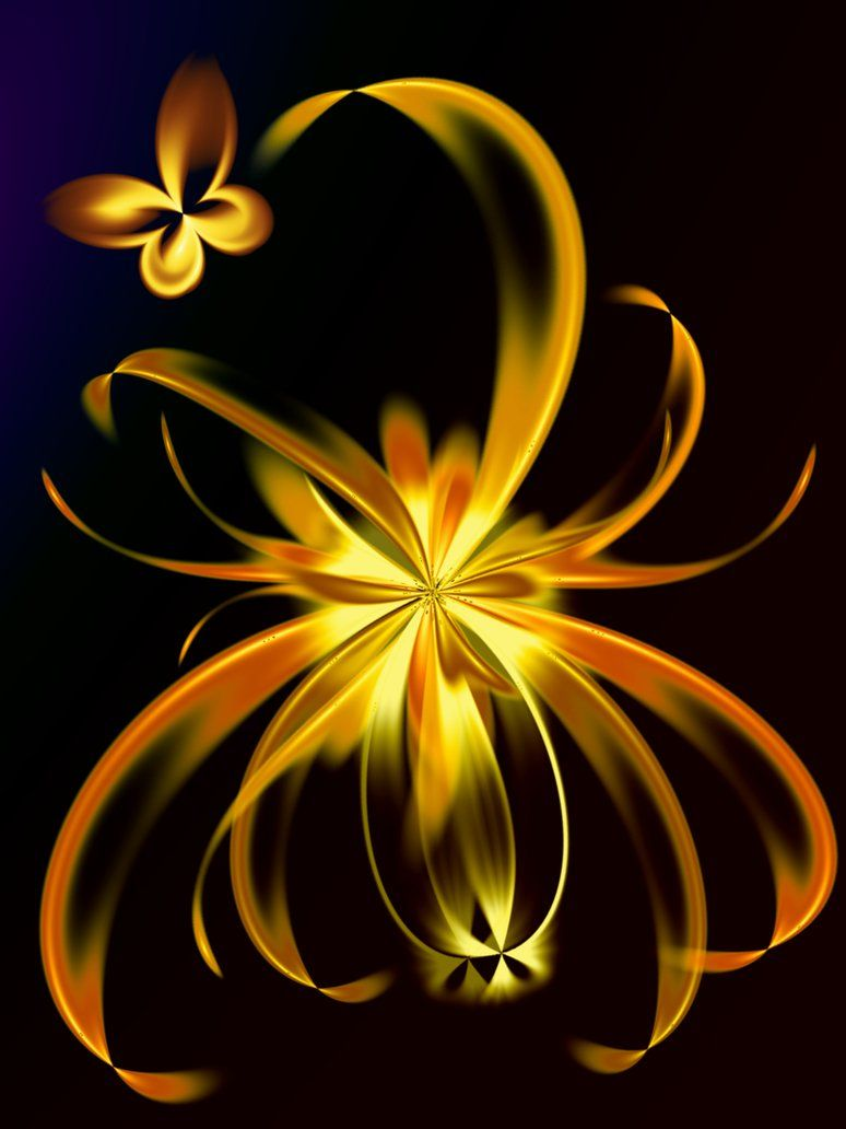 Golden Lily by svet-svet on deviantART this type is marked correctly ...