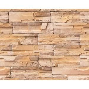 Decowall Madrid Bronze Brick Stone Peel And Stick 3D Effect Self Adhesive DIY Wallpaper F