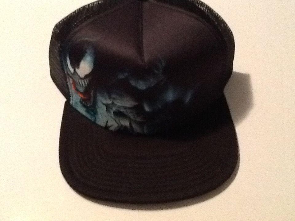 Spiderman Venom Hat Cap Snapback Costume Cosplay Marvel Comics Trucker Hat Hats Unisex Baseball Cap Spiderman Hat
