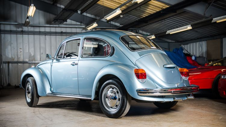 you can own a 1974 vw beetle with only 56 miles vw beetle vw beetles beetle volkswagen. Black Bedroom Furniture Sets. Home Design Ideas