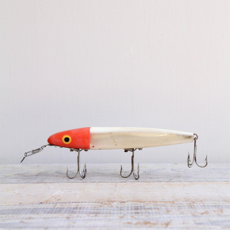 Giant Vintage Fishing Lure | Fish | Vintage fishing lures