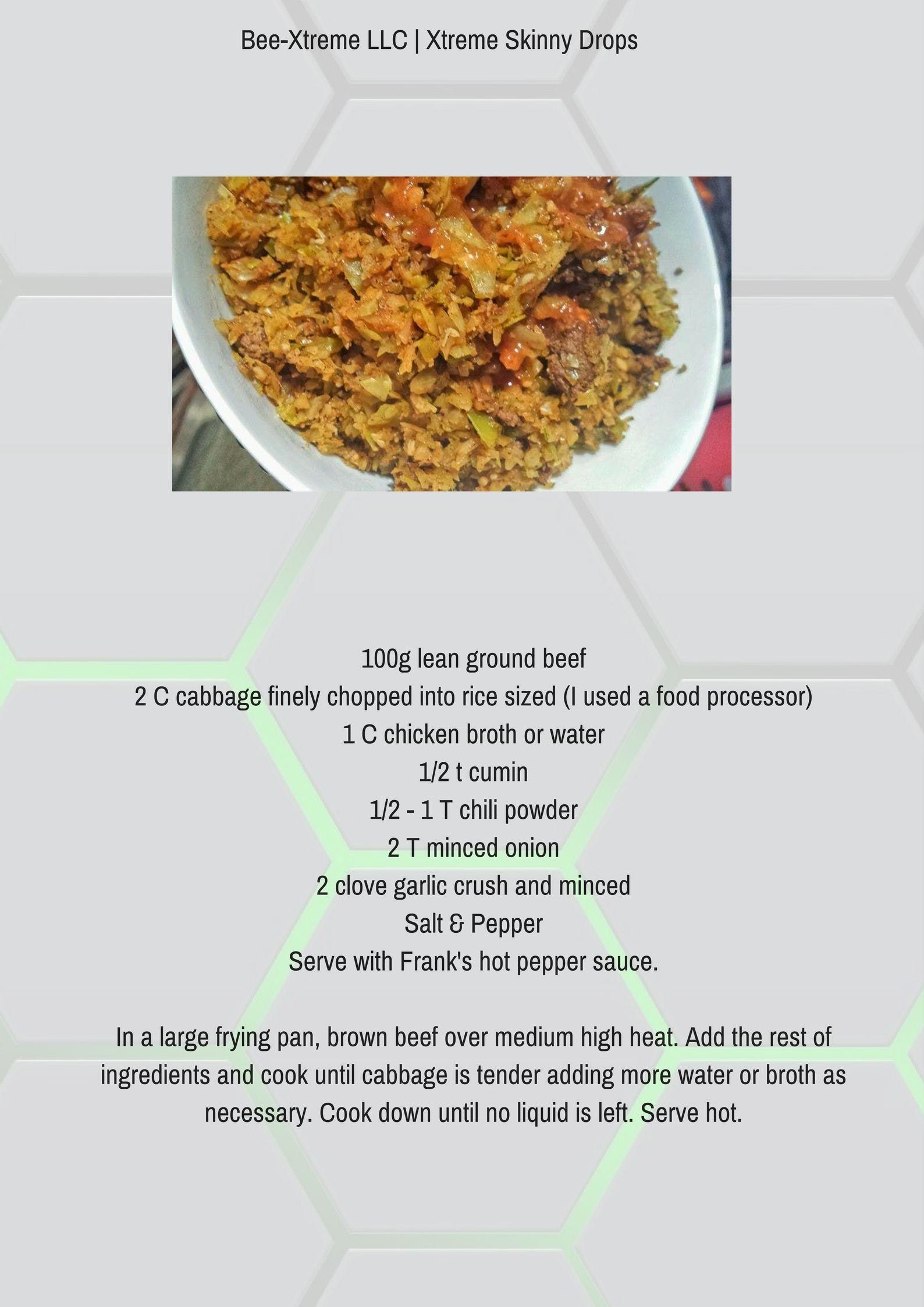 skinny drops diet plan
