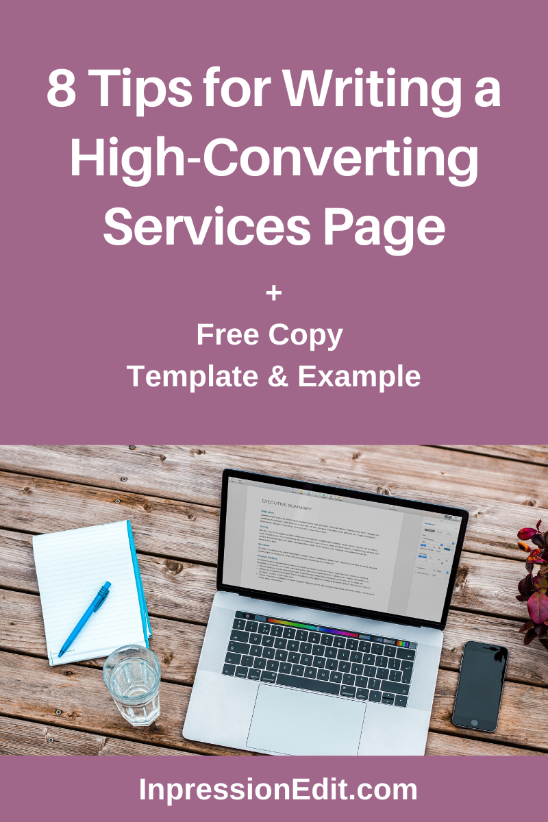 22 Tips for Writing a High-Converting Services Page - Inpression
