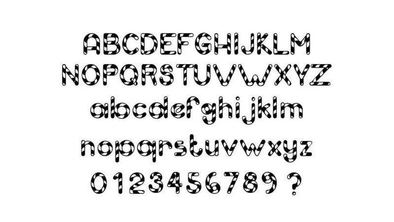 Candy Cane Font Download - Fonts Magazine   Candy Cane Font