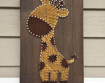 Mickey & Minnie Mouse String Art Duo Nursery Wall Art | Etsy