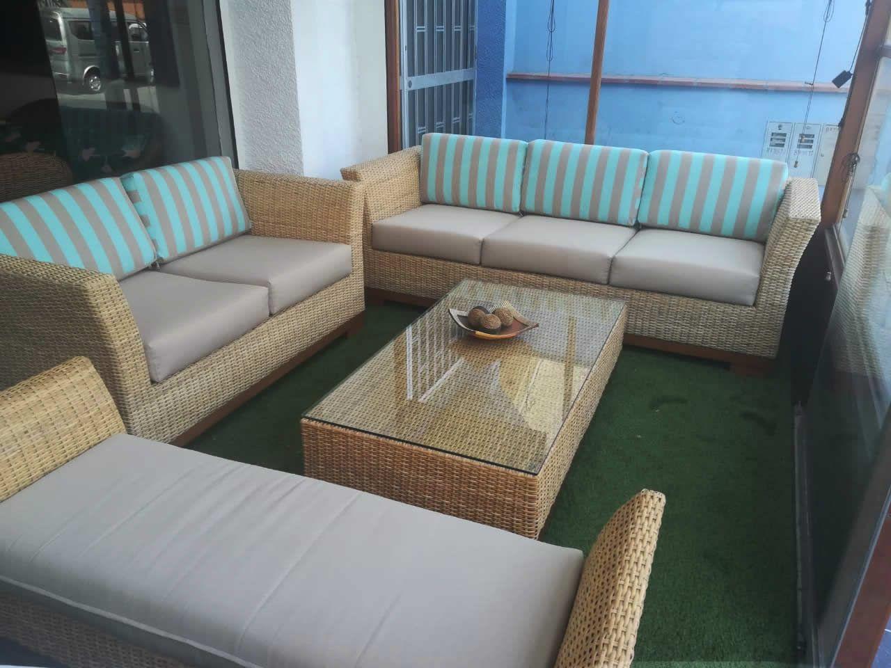 Muebles De Rattan Mimbre Natural Original Terrazas Jardines Casas De Playa Y Campo Disenos Innovadores Mueb En 2020 Muebles Muebles Para Terrazas Muebles De Exterior