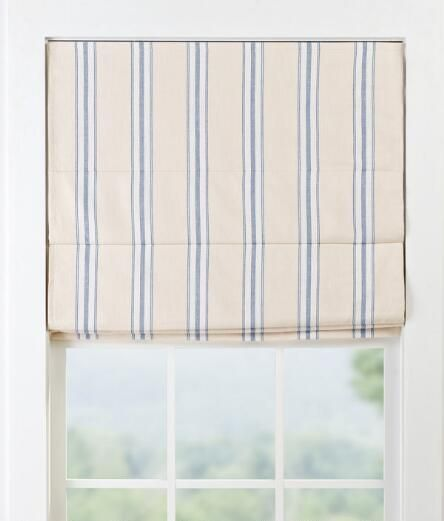 roman shades for sale levolor french ticking lined cordless roman shade final sale no returnsexchanges returns
