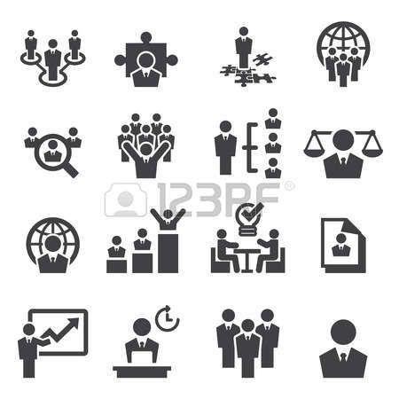 miembro: Los recursos humanos y los iconos de gestión