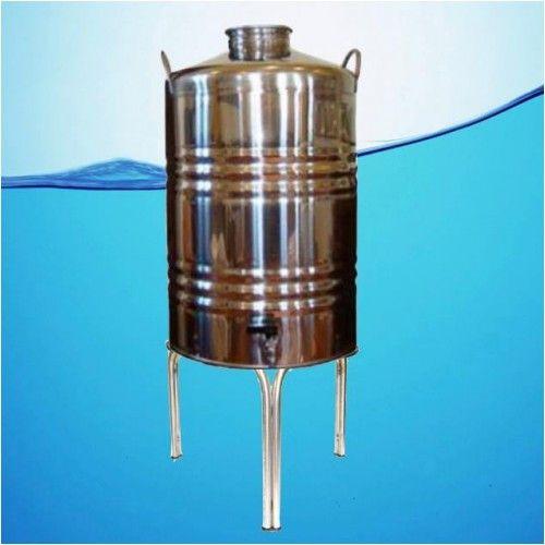 Superfustinox Stainless Steel Water Dispenser Fusti 50 Liter 13 2 Gal With Stand Antique Milk Can Water Dispenser Steel Water
