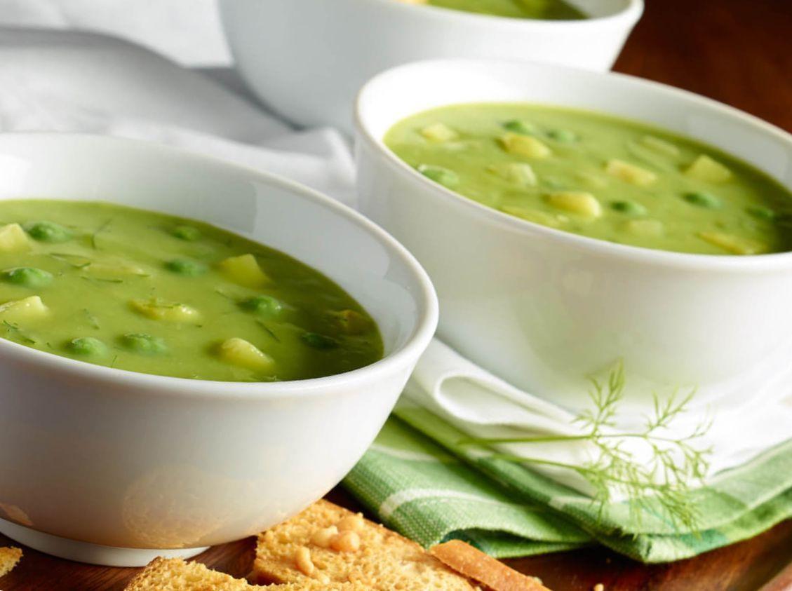 крупный суп из свежего гороха рецепт с фото пилота