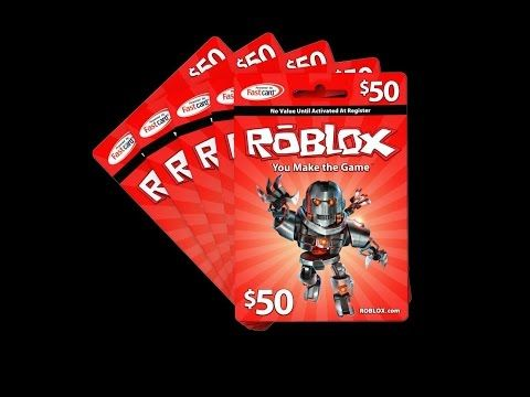 $50 Roblox Gift Card Giveaway [YouTube] [ENDS ?????] | Robux