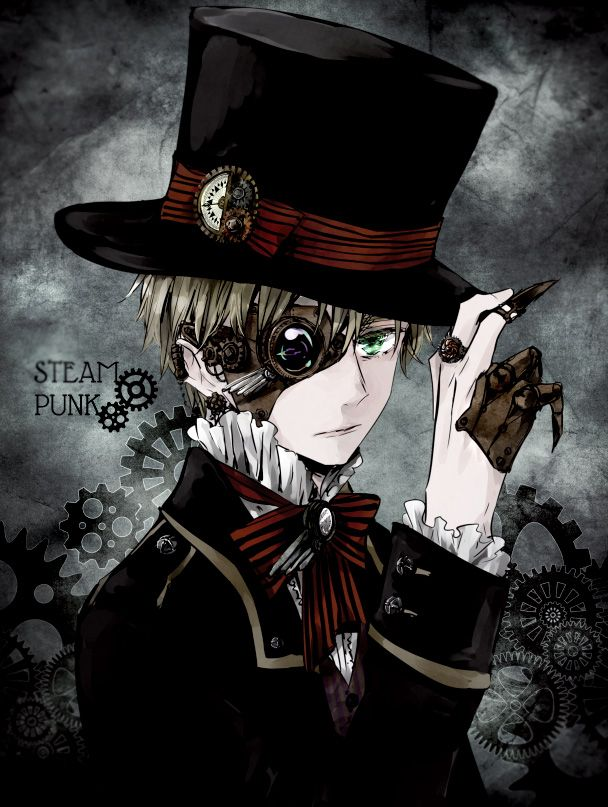 Tags: Anime, Aohara, Axis Powers: Hetalia, England, One Eye Showing, Top Hat, European Clothes