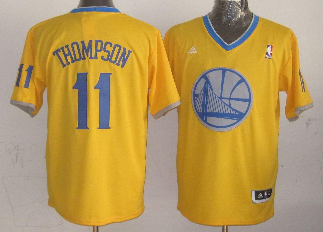 Basketball jerseys Golden State Warriors #11 Thompson yellow