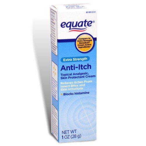 Equate - Anti-Itch Cream, Extra Strength, 1 oz (Compare to