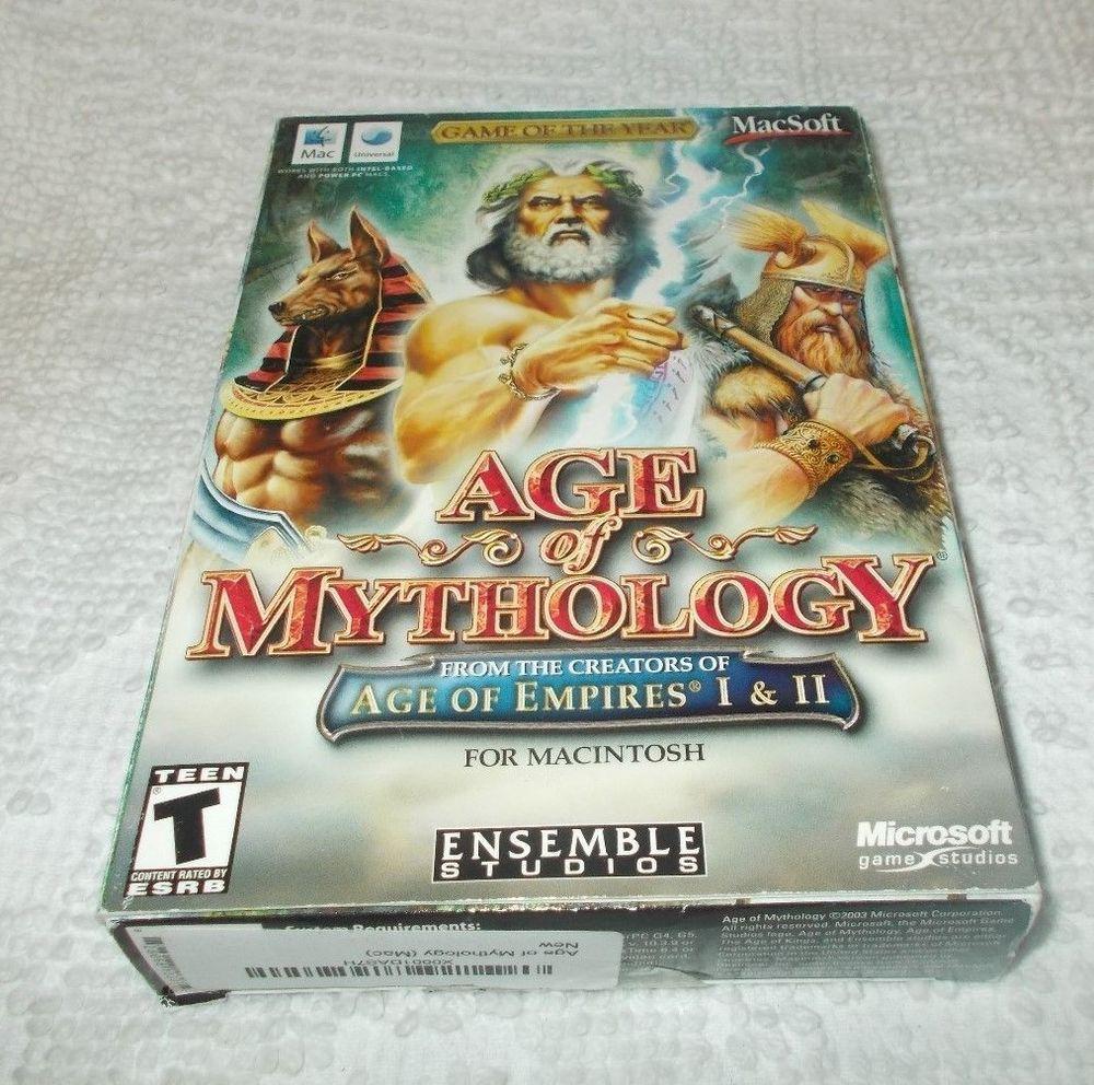 age of empires age of mythology mac
