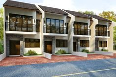 P 99 Dream Homes A Single Detached House Townhouse For Sale Located In Quijada Guadalupe Cebu City C 2 T Row House Design Townhouse Designs Apartments Exterior