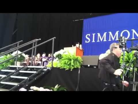 Woman on Campus: Opening of Maria Hinojosa's speech, Commencement 2012