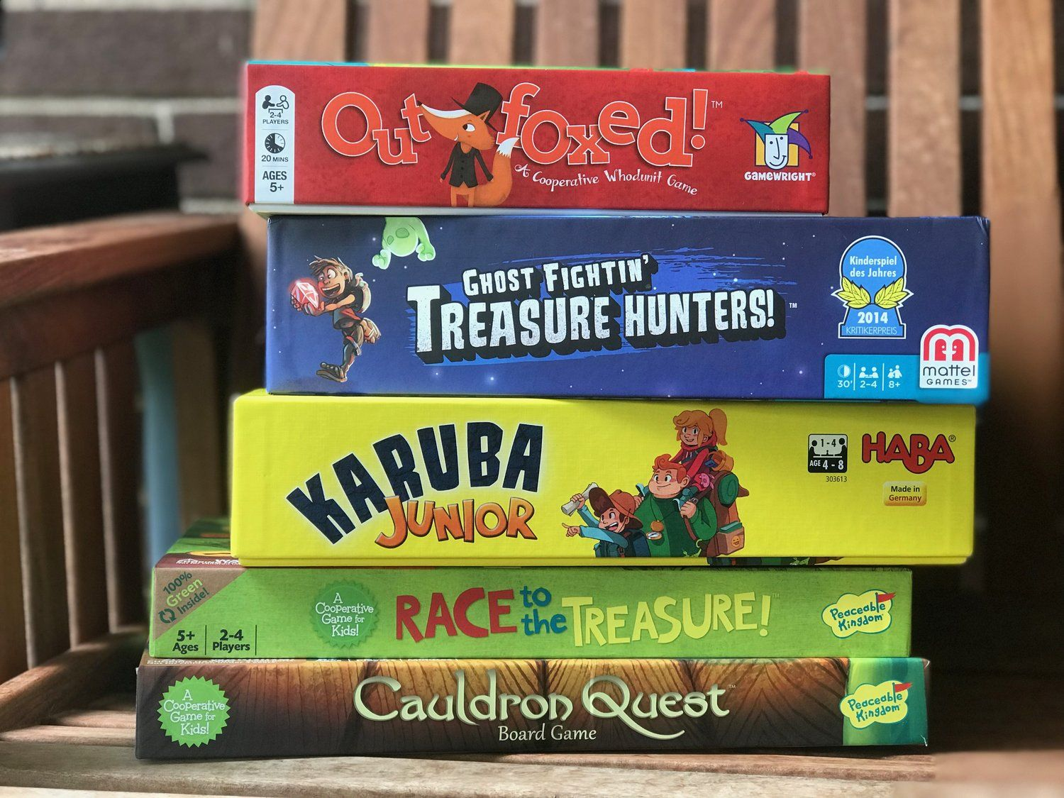The 5 Best Cooperative Board Games for 5YearOlds Board
