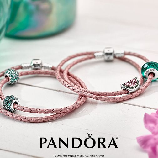 60f73c429 Explore Pandora's leather options and take advantage of a FREE leather  bracelet with your purchase of $100 or more. Visit store for details.