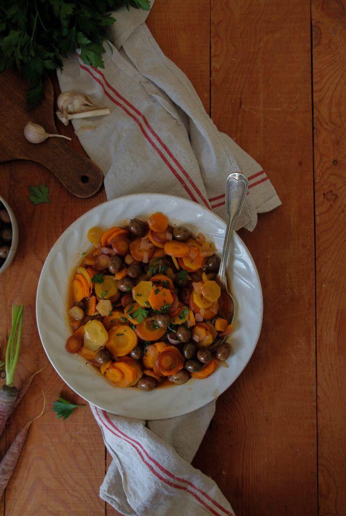 Cocotte de carottes aux olives vegan (avec images ...
