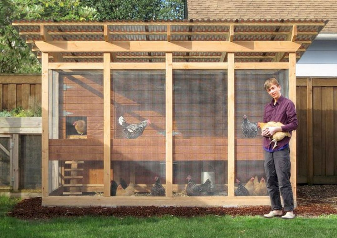 Building A Chicken Coop Epic 75 Creative And Low Budget Diy Chicken Coop Ideas For Your B Walk In Chicken Coop Large Chicken Coop Plans Easy Diy Chicken Coop Simple chicken house design for backyard farming