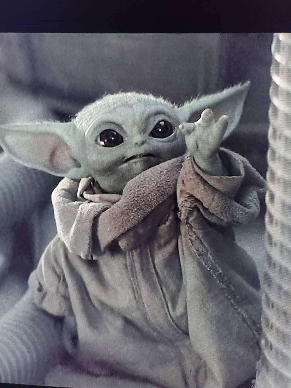 #babyyodawallpaper in 2020 | Yoda wallpaper, Yoda images ...