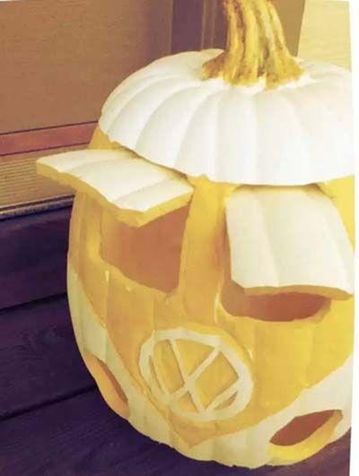 10 originales ideas para decorar una calabaza en halloween vw halloween pinterest pumpkin - Decorar una calabaza de halloween ...