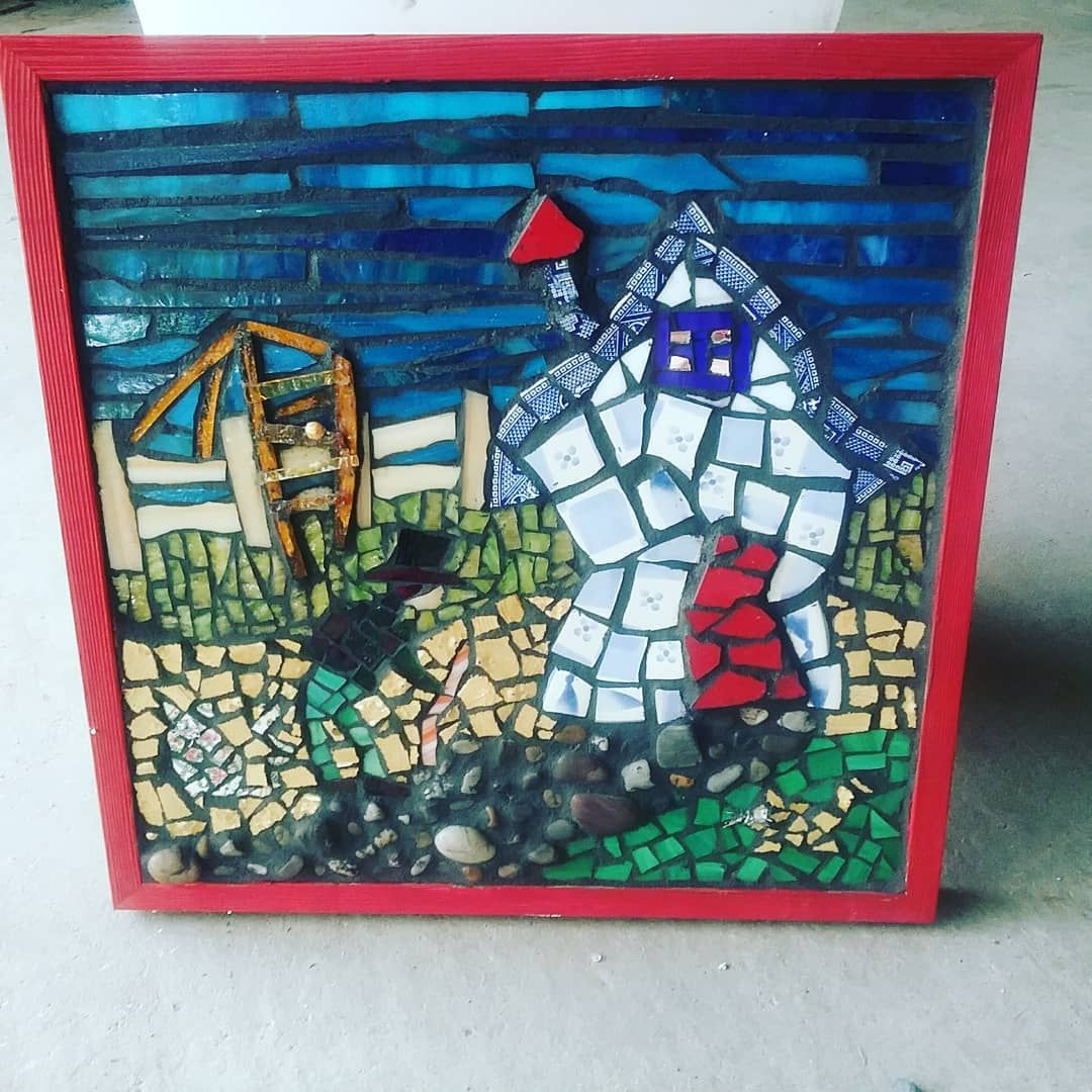 Mosaic Of My Favorite Nursery Rhyme There Was A Crooked