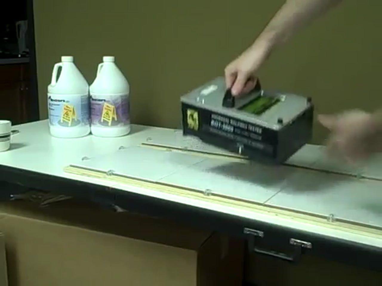 AntiSlip Slippery Tile Treatment Testing Demo Online - Dcof rating