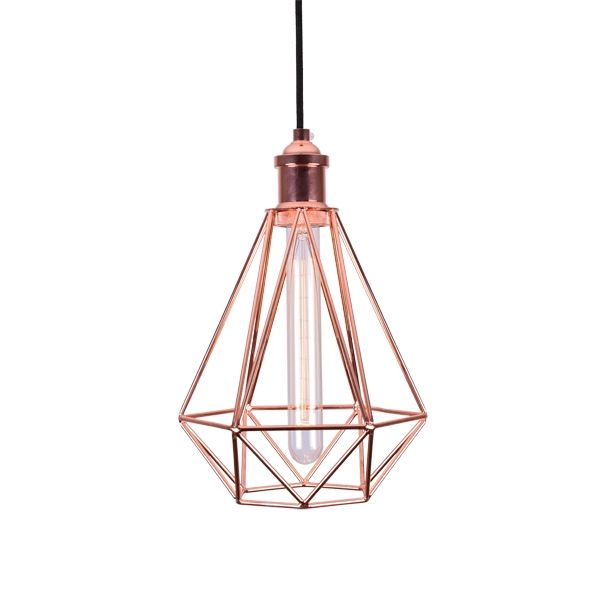 Copper cage ceiling lights industrial pendant lighting new pn copper cage ceiling lights industrial pendant lighting mozeypictures Images