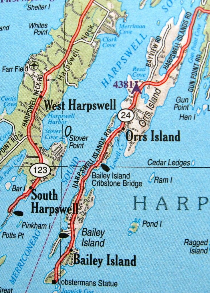 Corea Maine Map.Image Result For Map Of Bailey Island Maine Tasha S Lobsters
