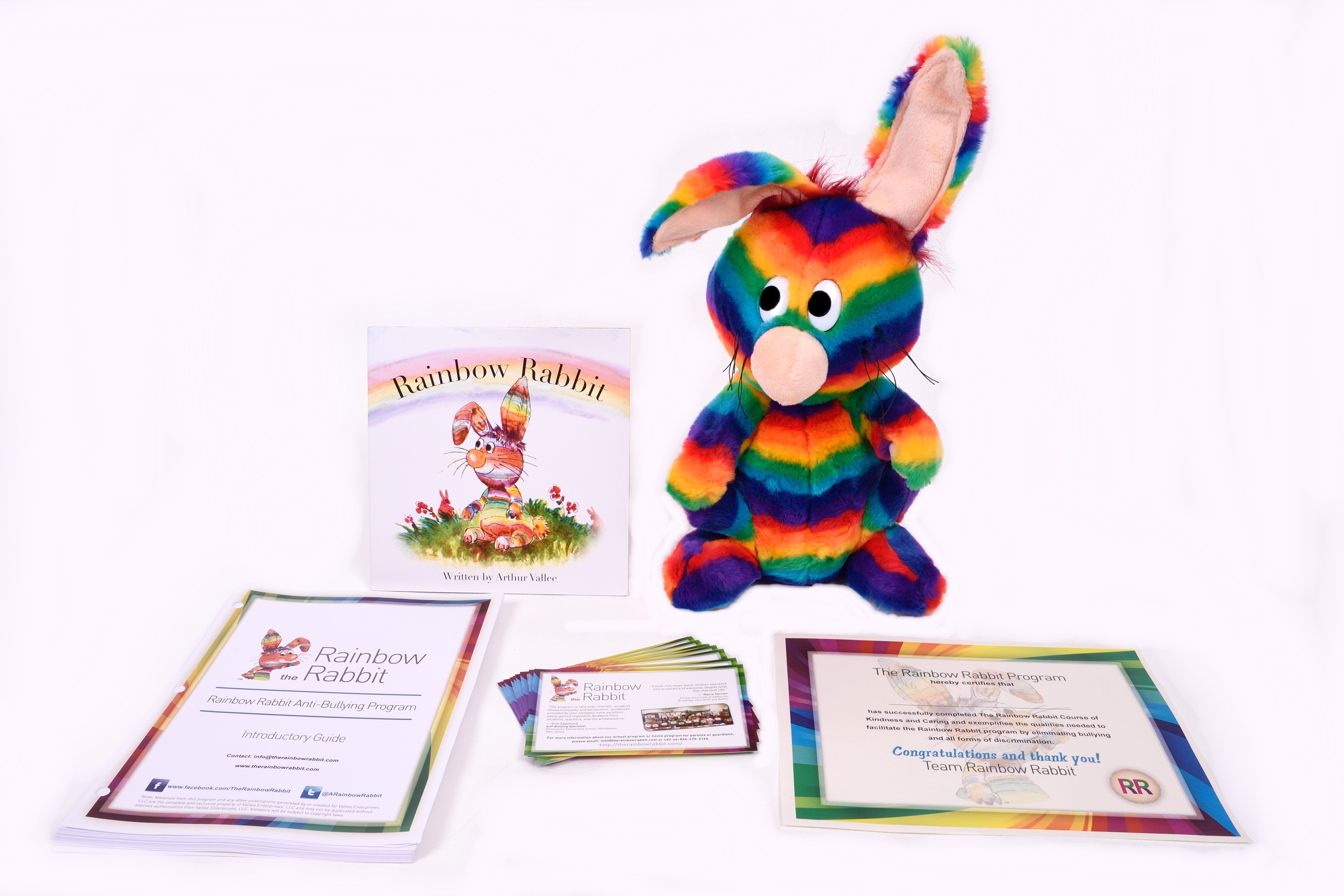 Rainbow Rabbit is a Kindergarden through Grade 4 Anti-Bullying Educational Program that empowers children, parents and educators to create a positive environment that celebrates unique differences.