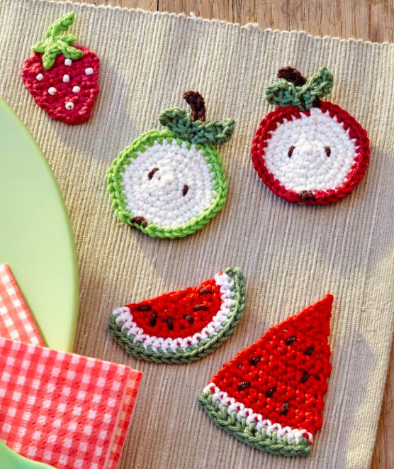 Leckeres Obst Häkelanleitung | Pinterest | Crochet food, Play food ...